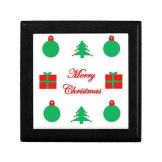 Boîte À Souvenirs Conception de Joyeux Noël
