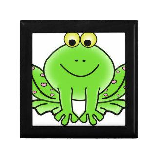 Boîte À Souvenirs conception de vert d'inspiration d'art de
