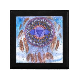 Boîte À Souvenirs Conception inspirée de Chakra de troisième oeil