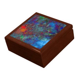 """Boîte À Souvenirs """"Congelé"""" a couvert de tuiles la boîte-cadeau de"""