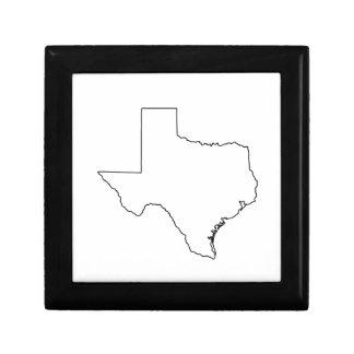 Boîte À Souvenirs Contour de collection du Texas