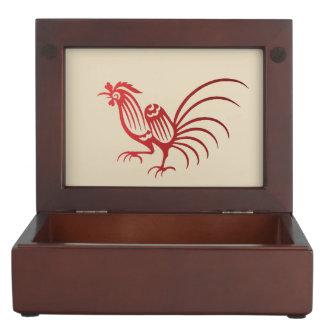 Boîte À Souvenirs Coq