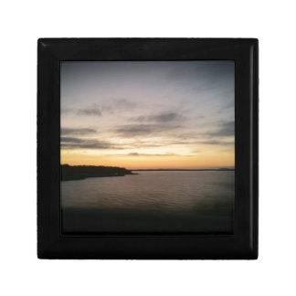 Boîte À Souvenirs Coucher du soleil de Texoma de lac