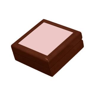 Boîte À Souvenirs Couleur solide de rose de pantoufles de ballet