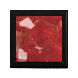 Boîte À Souvenirs coupe de rouge d'art