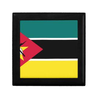Boîte À Souvenirs Coût bas ! Drapeau de la Mozambique