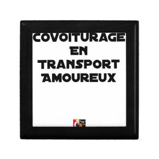 Boîte À Souvenirs COVOITURAGE EN TRANSPORT AMOUREUX - Jeux de mots