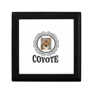 Boîte À Souvenirs coyote rond