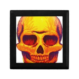 Boîte À Souvenirs Crâne de croquis