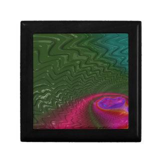 Boîte À Souvenirs Crépuscule de fractale de vent