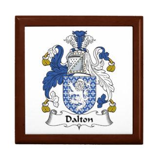 Boîte À Souvenirs Crête de famille de Dalton