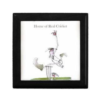 Boîte À Souvenirs Cricket de Yorkshire d'amour vrai '