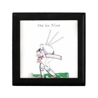 Boîte À Souvenirs Cricket de Yorkshire 'pour le n'owt