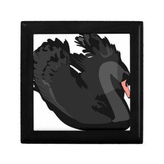 Boîte À Souvenirs cygne noir