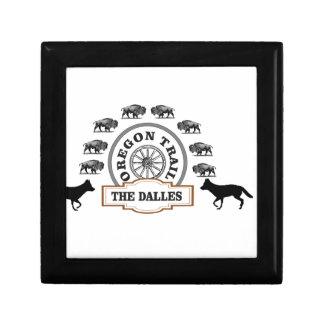 Boîte À Souvenirs dalles de bison de renard