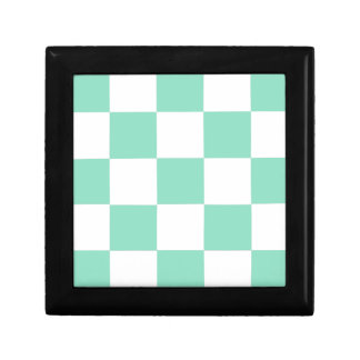 Boîte À Souvenirs Damier vert en bon état