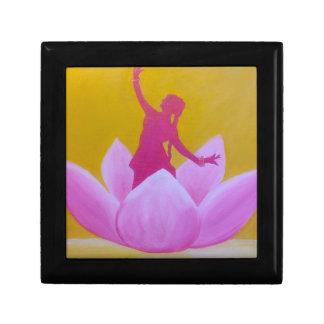 Boîte À Souvenirs Danseur de Lotus Kathak