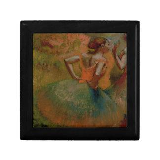 Boîte À Souvenirs Danseurs d'Edgar Degas | utilisant des jupes de