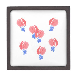 Boîte À Souvenirs De Première Qualité Boîte-cadeau de milieu de ballons à air