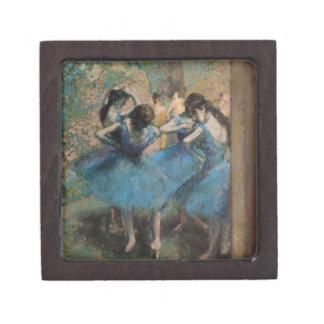 Boîte À Souvenirs De Première Qualité Danseurs d'Edgar Degas | dans le bleu, 1890