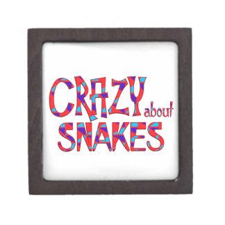 Boîte À Souvenirs De Première Qualité Fou au sujet des serpents