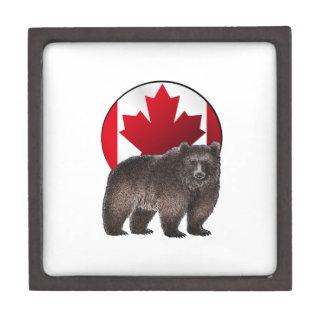 Boîte À Souvenirs De Première Qualité Habitat canadien