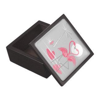 Boîte À Souvenirs De Première Qualité Milieu de boîte-cadeau d'amour de flamant