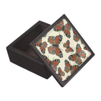 Boîte À Souvenirs De Première Qualité Motif d'aquarelle de papillons
