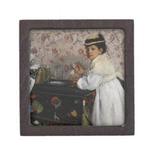 Boîte À Souvenirs De Première Qualité Portrait d'Edgar Degas | de Mlle. Hortense