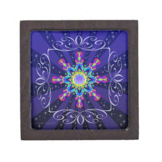 Boîte À Souvenirs De Première Qualité Série #1 d'éclat de boîte à bijoux de kaléidoscope