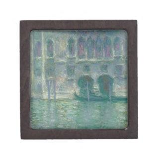 Boîte À Souvenirs De Première Qualité Vue panoramique de Claude Monet | de