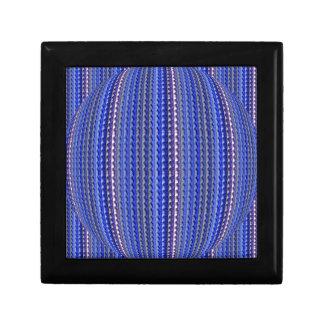 Boîte À Souvenirs Dessin géométrique pourpre coloré lumineux méga