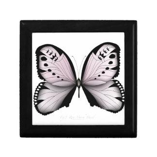 Boîte À Souvenirs Domestique rose de marais de papillon rose