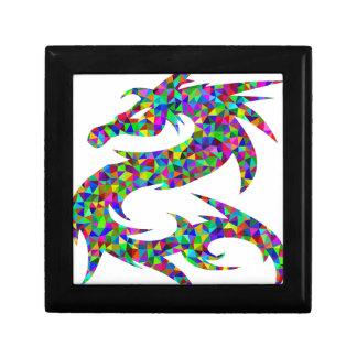 Boîte À Souvenirs dragon coloré