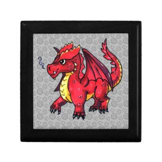 Boîte À Souvenirs Dragon rouge