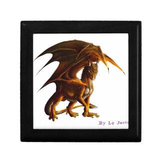 Boîte À Souvenirs Dragon vert