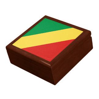 Boîte À Souvenirs Drapeau de Congo-Brazzaville
