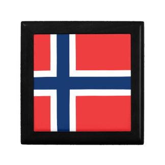Boîte À Souvenirs Drapeau de la Norvège