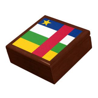 Boîte À Souvenirs Drapeau de la République centrafricaine