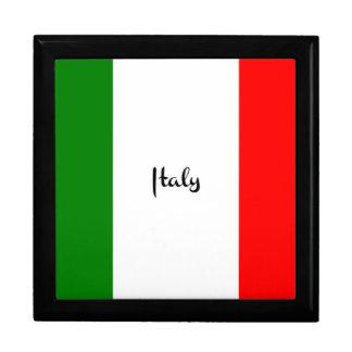 Boîte À Souvenirs Drapeau de l'Italie