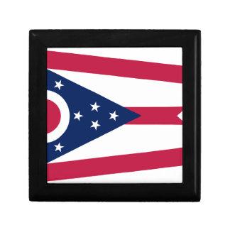 Boîte À Souvenirs Drapeau de l'Ohio