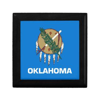 Boîte À Souvenirs Drapeau de l'Oklahoma
