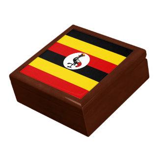 Boîte À Souvenirs Drapeau de l'Ouganda
