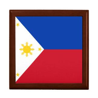 Boîte À Souvenirs Drapeau de Philippines