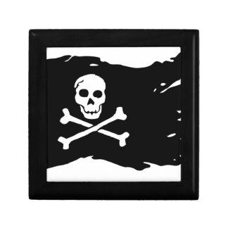 Boîte À Souvenirs Drapeau de pirate