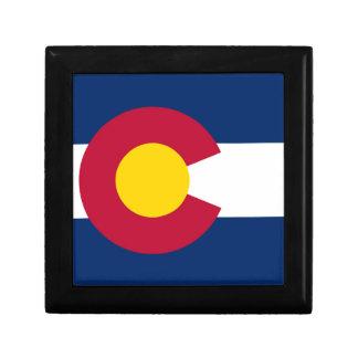 Boîte À Souvenirs Drapeau du Colorado