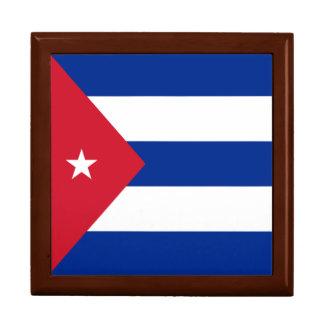 Boîte À Souvenirs Drapeau du Cuba