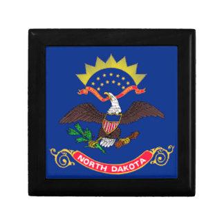 Boîte À Souvenirs Drapeau du Dakota du Nord