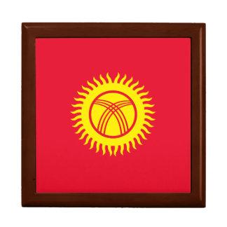 Boîte À Souvenirs Drapeau du Kirghizistan