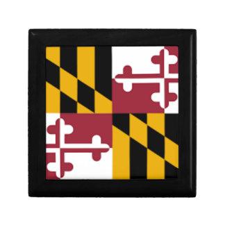 Boîte À Souvenirs Drapeau du Maryland
